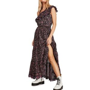 Free People What About Love Maxi Dress XS